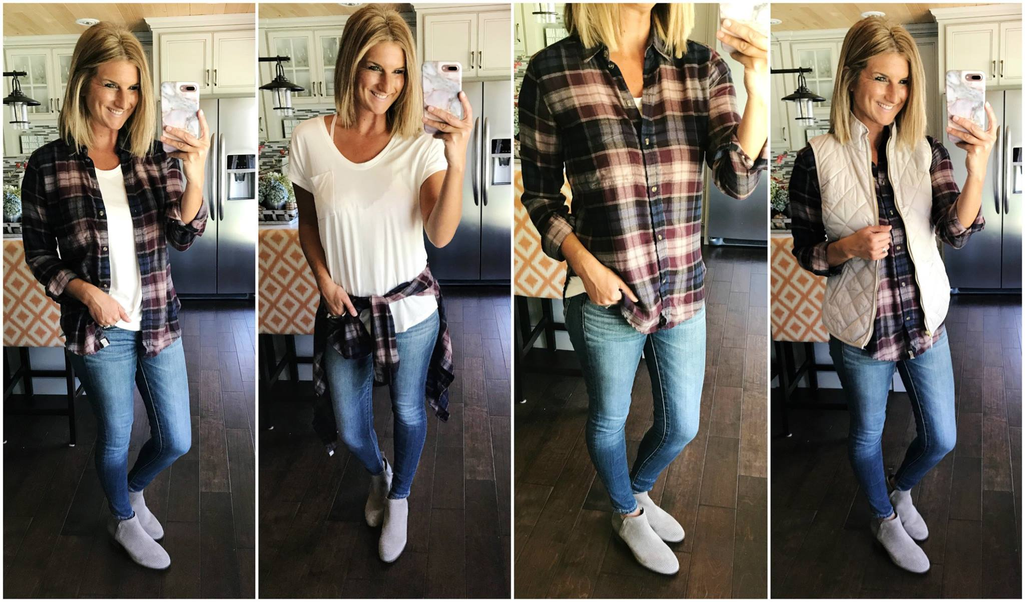 Four Ways to Wear a Flannel Shirt