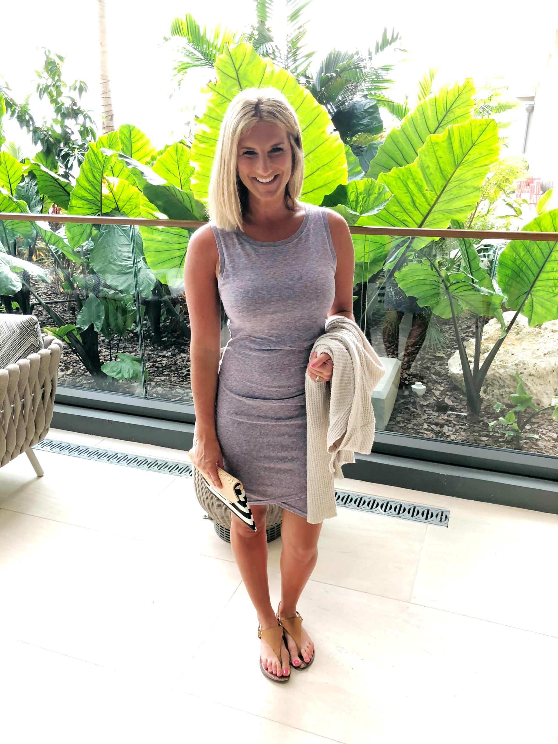 How to Style a Ruched Dress