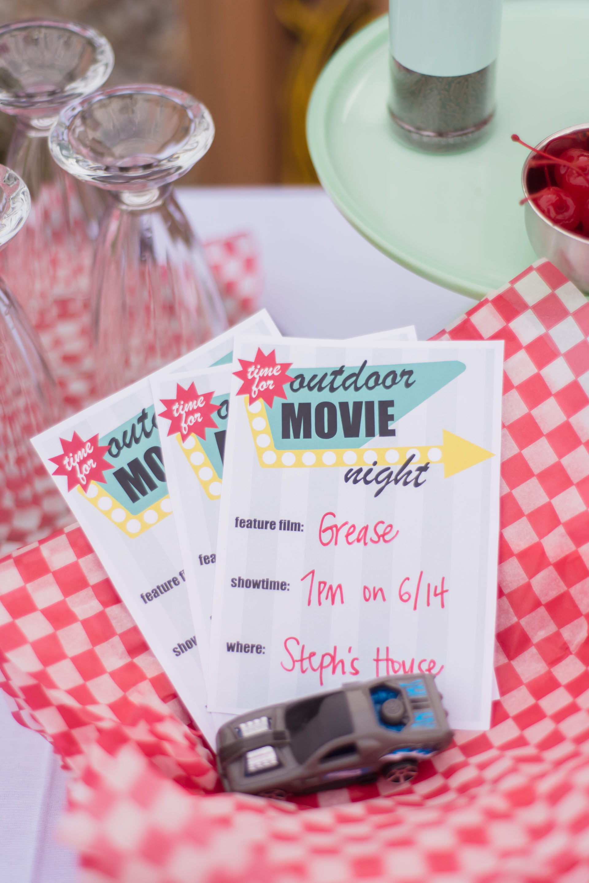 outdoor movie printable