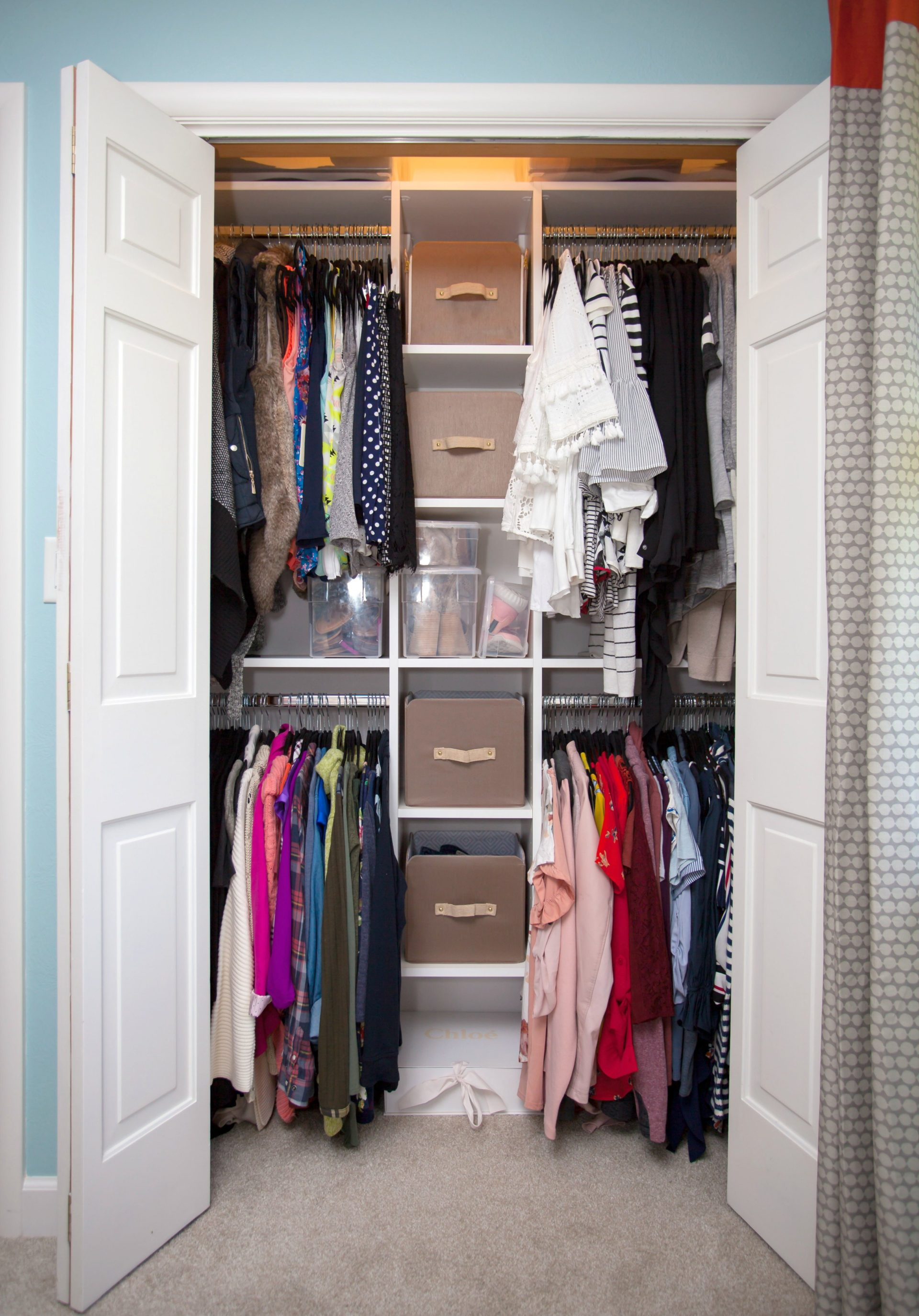 organized and regular inside jackets color it a all middle where organization s keep sleeveless living this again the by photos is style closet i my closets vests tops in that look june down yellow tips