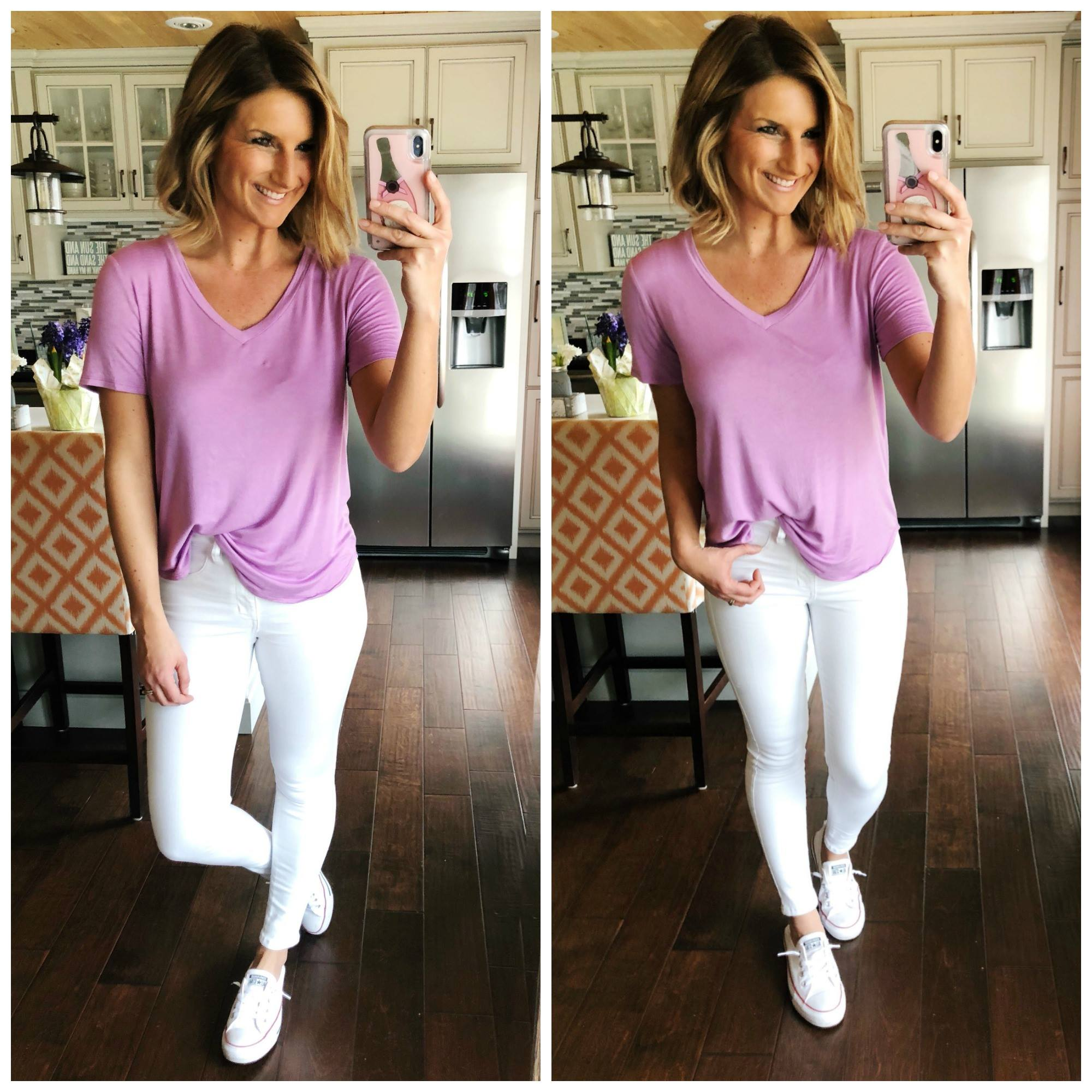 How to Style White Jeans // Perfect White Jeans