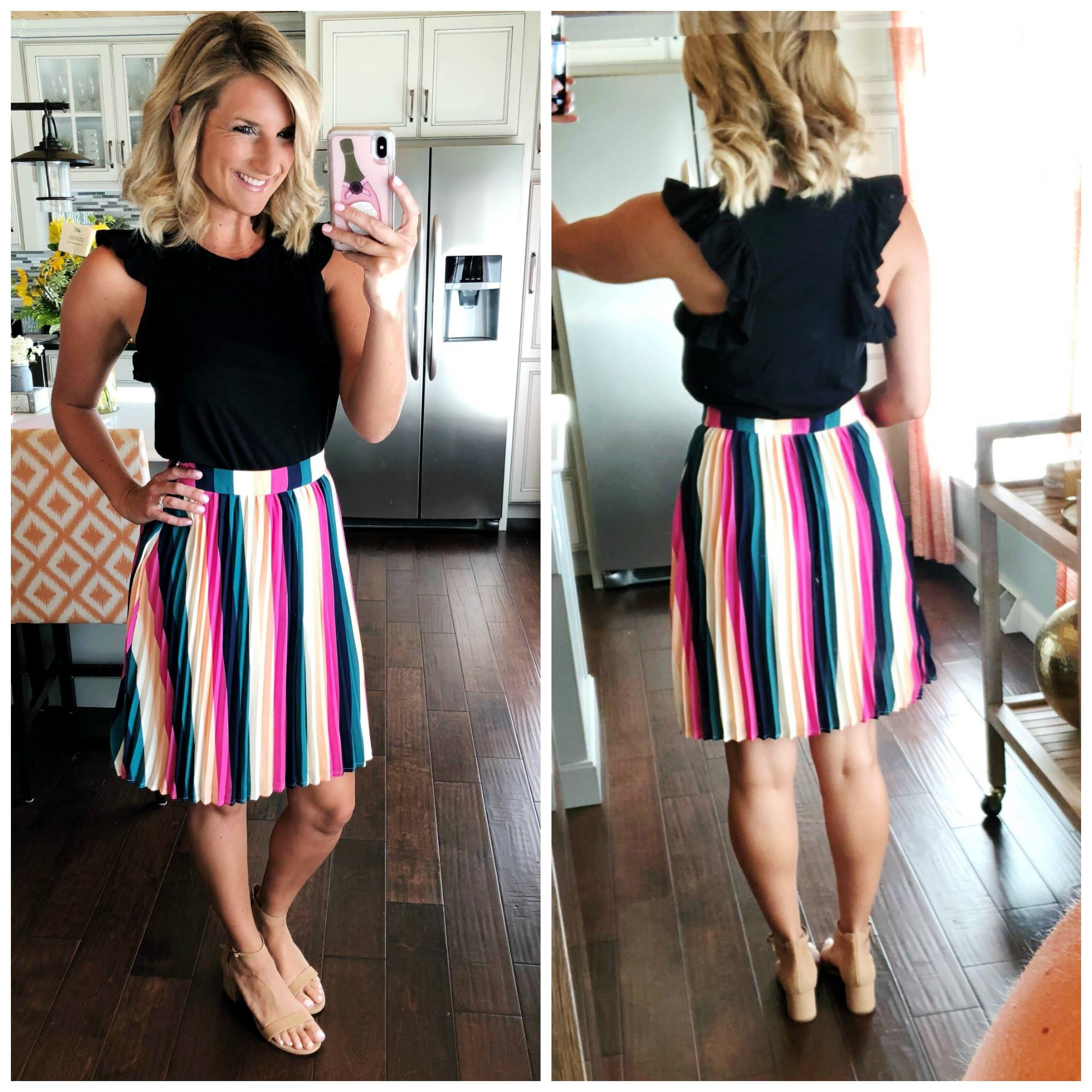 What to Wear to Work // Summer Work Wear // How to Style a Colorful Skirt