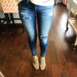 The Best Distressed Jeans for Fall and Winter