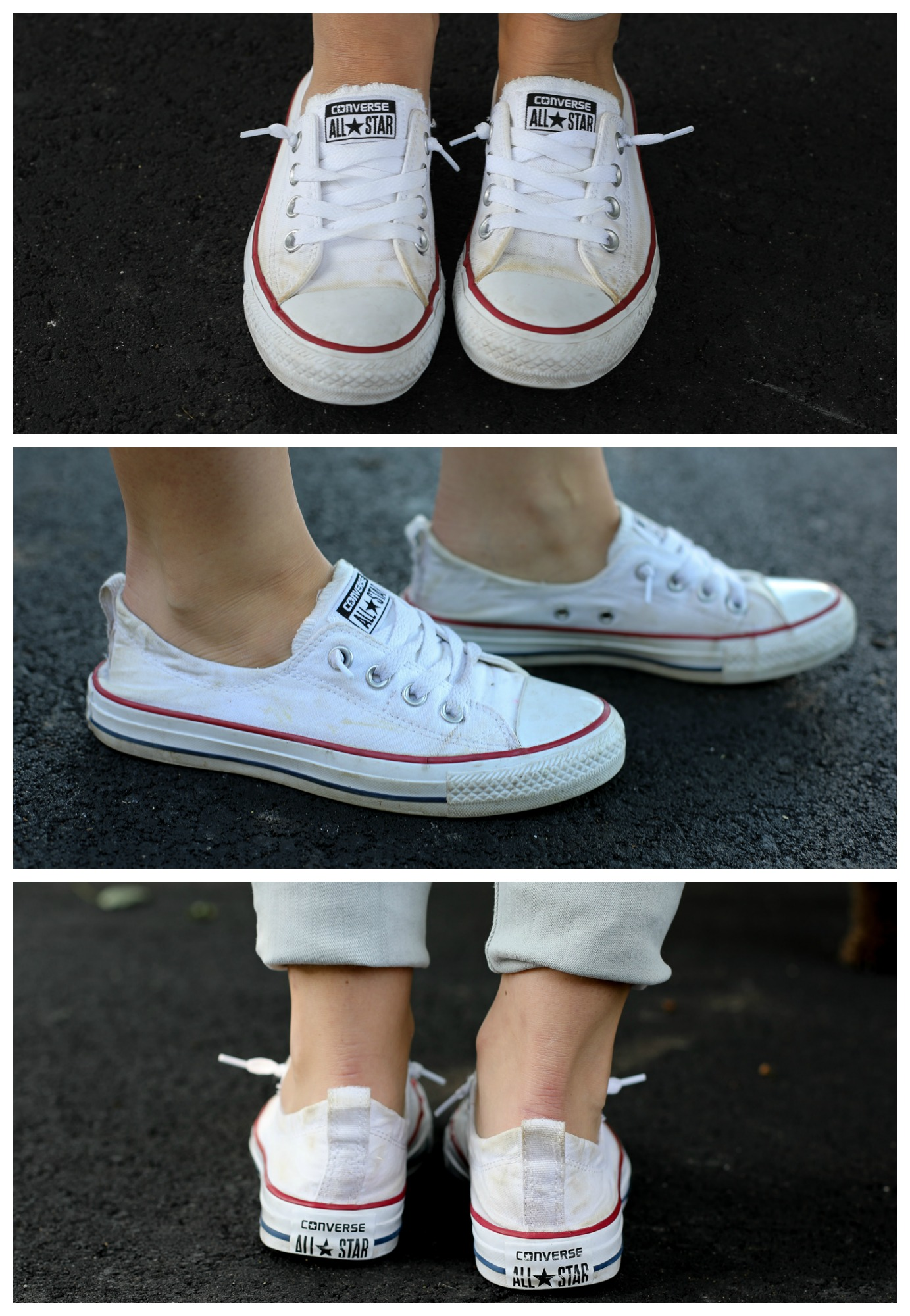 0d4d6a801543 How to Clean Your Converse  6 Methods Put To The Test!  - Living in ...