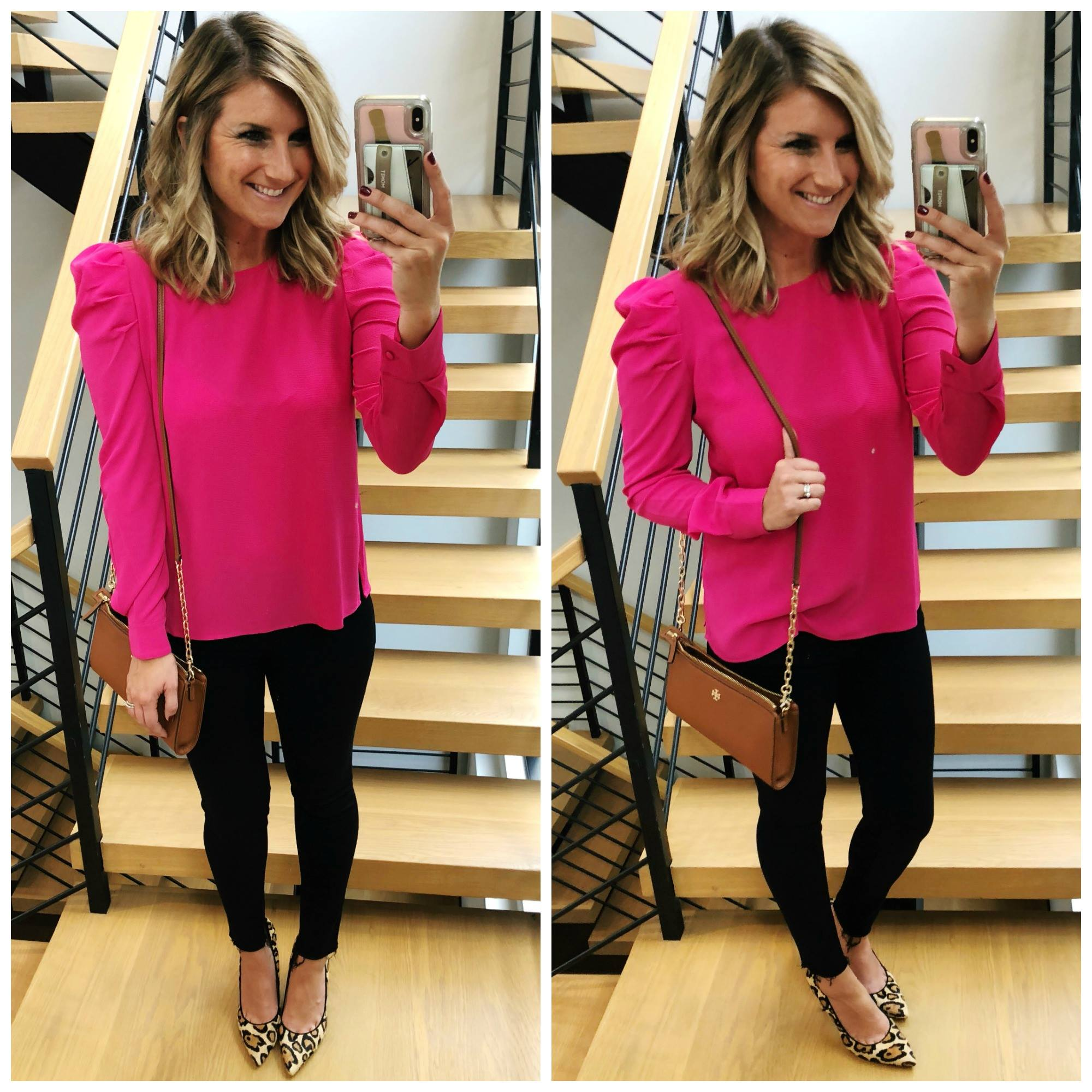 Casual Work Wear // Date Night // Night Out // Bright Colored Top