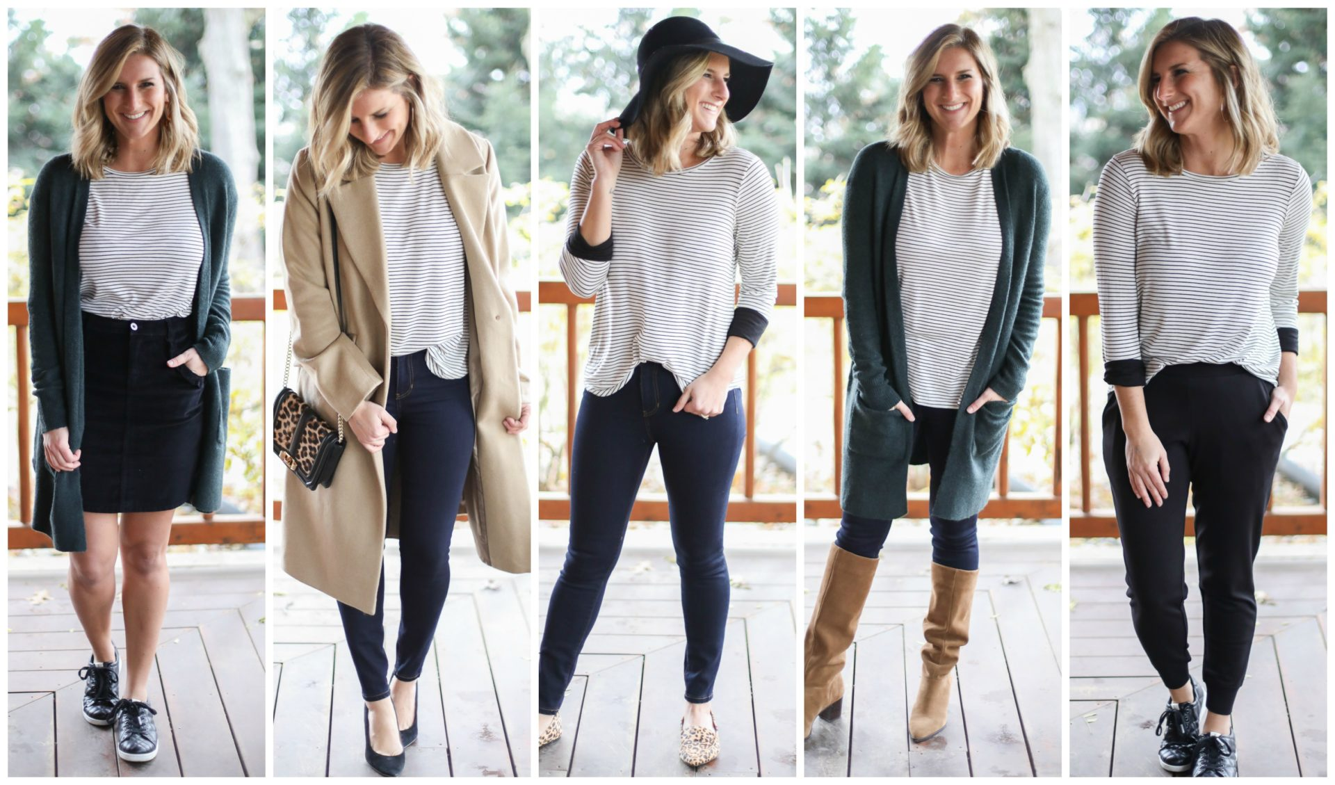 b35431a327 How to Build a Winter Capsule Wardrobe - Living in Yellow
