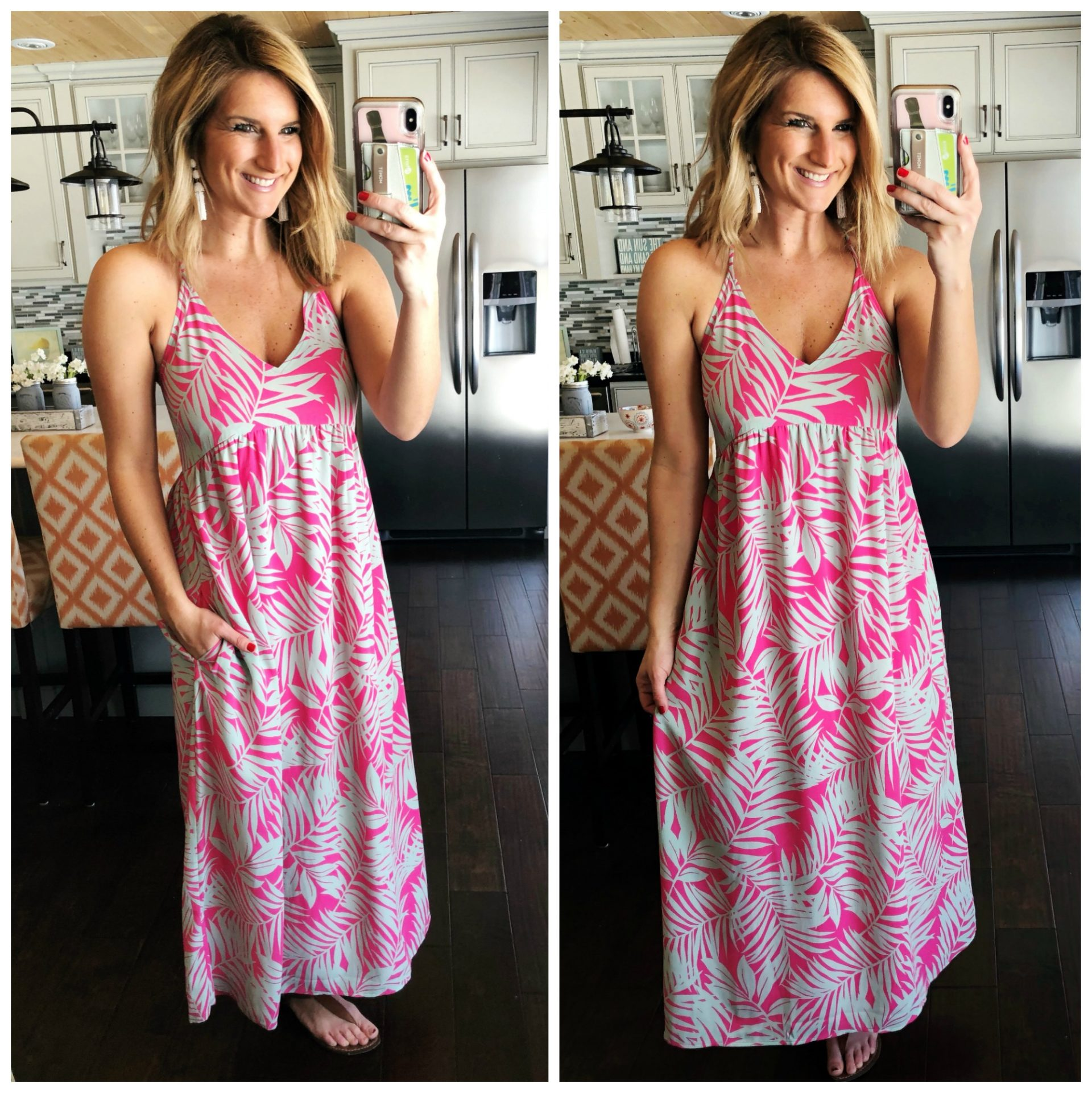 Maxi Dress // What to Wear on a Cruise // Spring Break // Summer Fashion // Comfortable and Flattering Dress