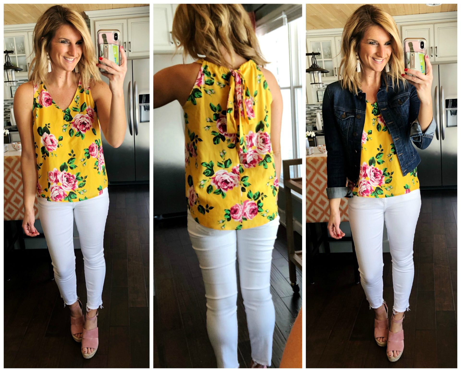 Vacation Outfit // Summer Fashion // Date Night Outfit // White skinny Jeans