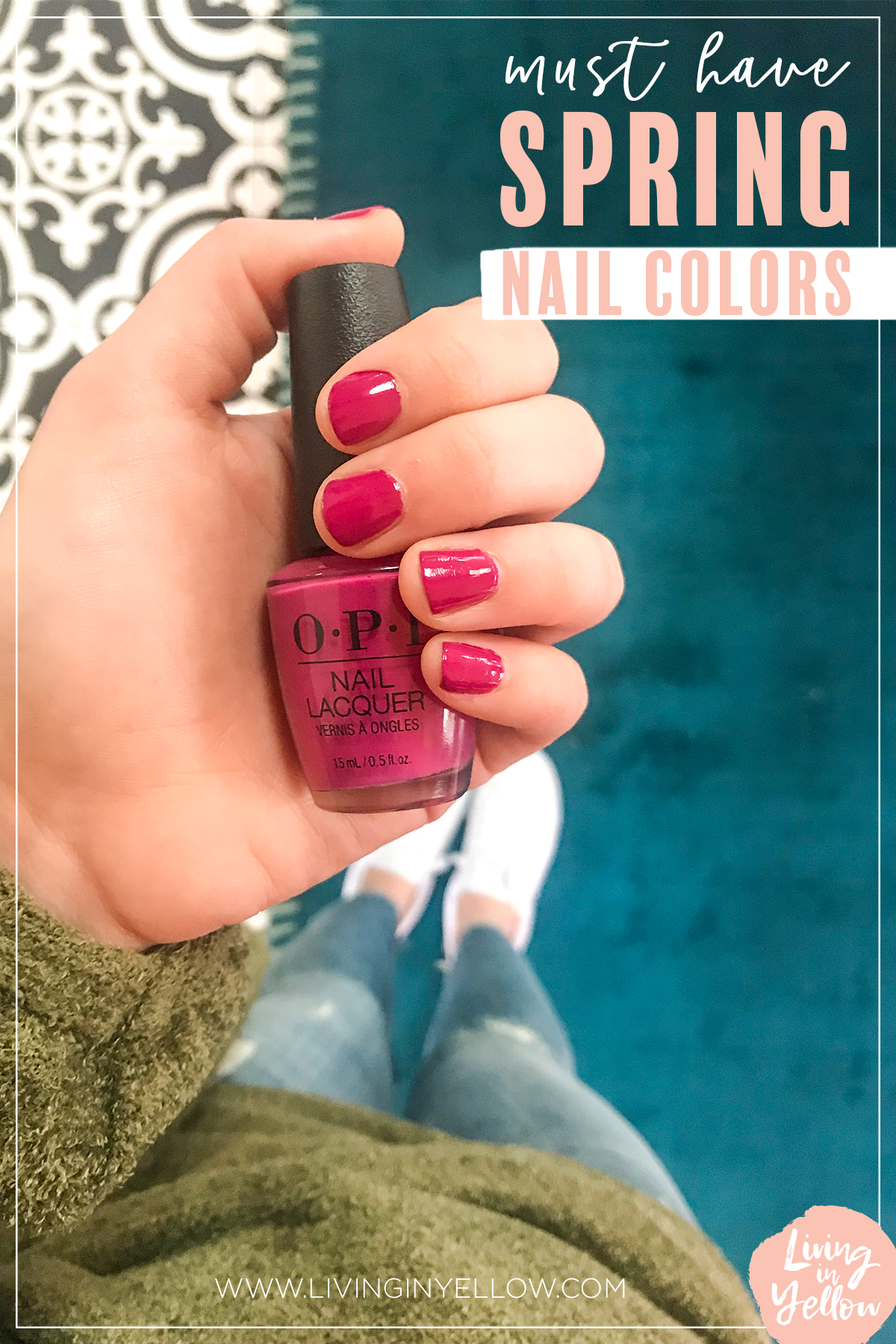The-best-spring-nail-colors. Spring-and-summer nail colors / Nail goals. Trending-nails-for-spring. Bold-spring-colors. Nail-colors-to-copy!